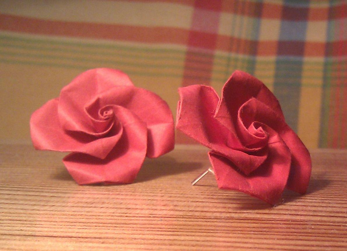 Origami nunice origami jmno spinning top rose jeuxipadfo Images